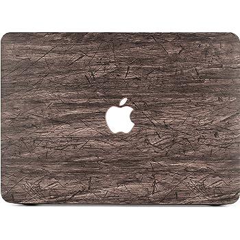 "Belk, Custodia per macbook Air 13"", 2in 1,ultrasottile, leggera, custodia rigida con cover per tastiera, (Modello: A1369/A1466) WOOD L3 MacBook Air 13""(A1369/A1466)"