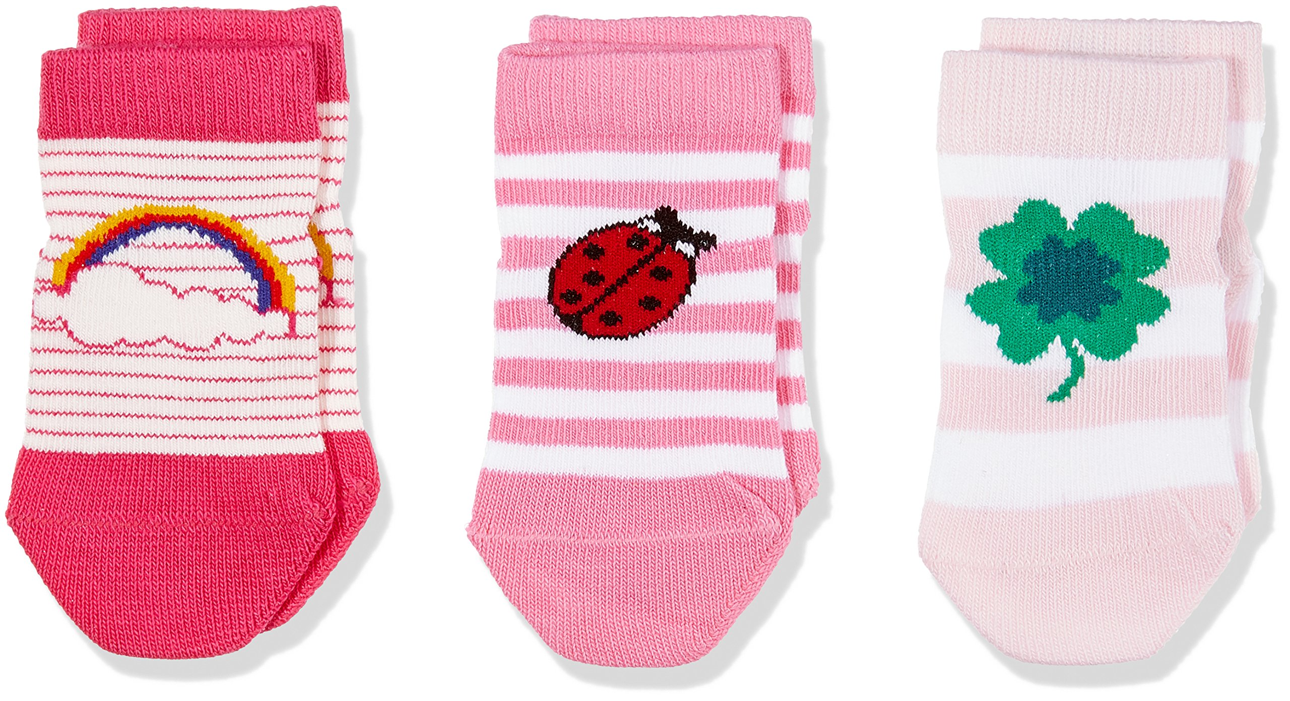 Tommy Hilfiger Th Baby Lucky Charms Giftbox Calcetines (Pack de 3) para Bebés
