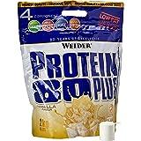 Weider Protein 80 Plus eiwitpoeder, vanille, low-carb, meercomponenten caseïne wei-mix voor eiwitshakes, 2 kg