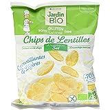 Jardin BiO étic Chips de Lentilles pointe de Sel