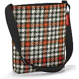 Reisenthel Damen Shopper E1 Einkaufstasche, Glencheck Red, 29 cm