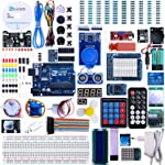 Elegoo Set/Kit für Arduino UNO Projekt Das Vollständige Ultimate Starter Kit mit Deutsch Tutorial, UNO R3 Mikrocontroller...