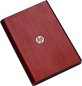 HP 1TB External Hard Drive - Red: Amazon.co.uk: Computers ...