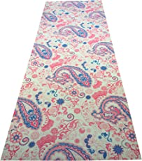 Vritraz Printed, Extra Thick 6mm, 72x24 inch Long, Premium Eco Safe, Non Slip Yoga Mat + Free Carry Bag