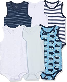 Care Baby Boys Bodysuit Exclusive Sleeveless 3-Pack