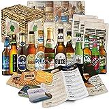 12 Bier Spezialitäten aus Deutschland (Die besten deutschen Biere) als Probierpaket zum Verschenken in…
