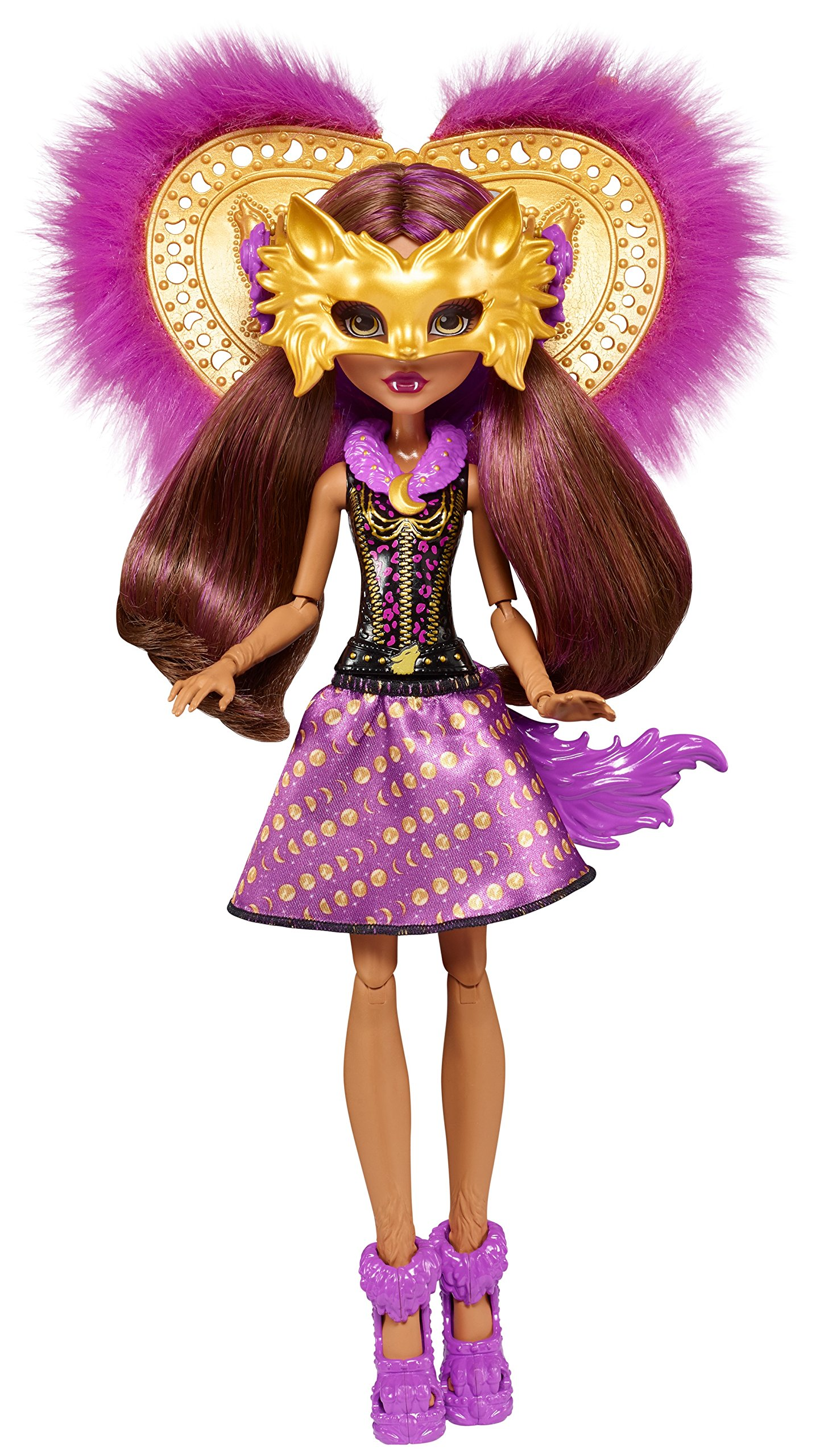 Monster High FKP47 Ghoul To Wolf Clawdeen Transformación Muñeca