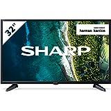 """Sharp 32CB3E - TV 32 Pulgadas 32"""" (resolución 1368 x 720, 3X HDMI, 2X USB) Color Negro"""
