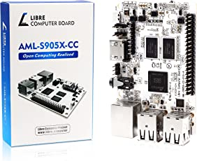Libre Computer Board AML S905X CC (Le Potato) 2GB 64 bit 4K Media Mini Computer