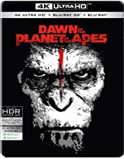 Dawn of the Planet of the Apes (Steelbook) (4K UHD + Blu-ray 3D + Blu-ray) (3-Disc Box Set)