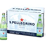 San Pellegrino Sparkling Natural Mineral Water Glass - 500ml (Pack of 24)