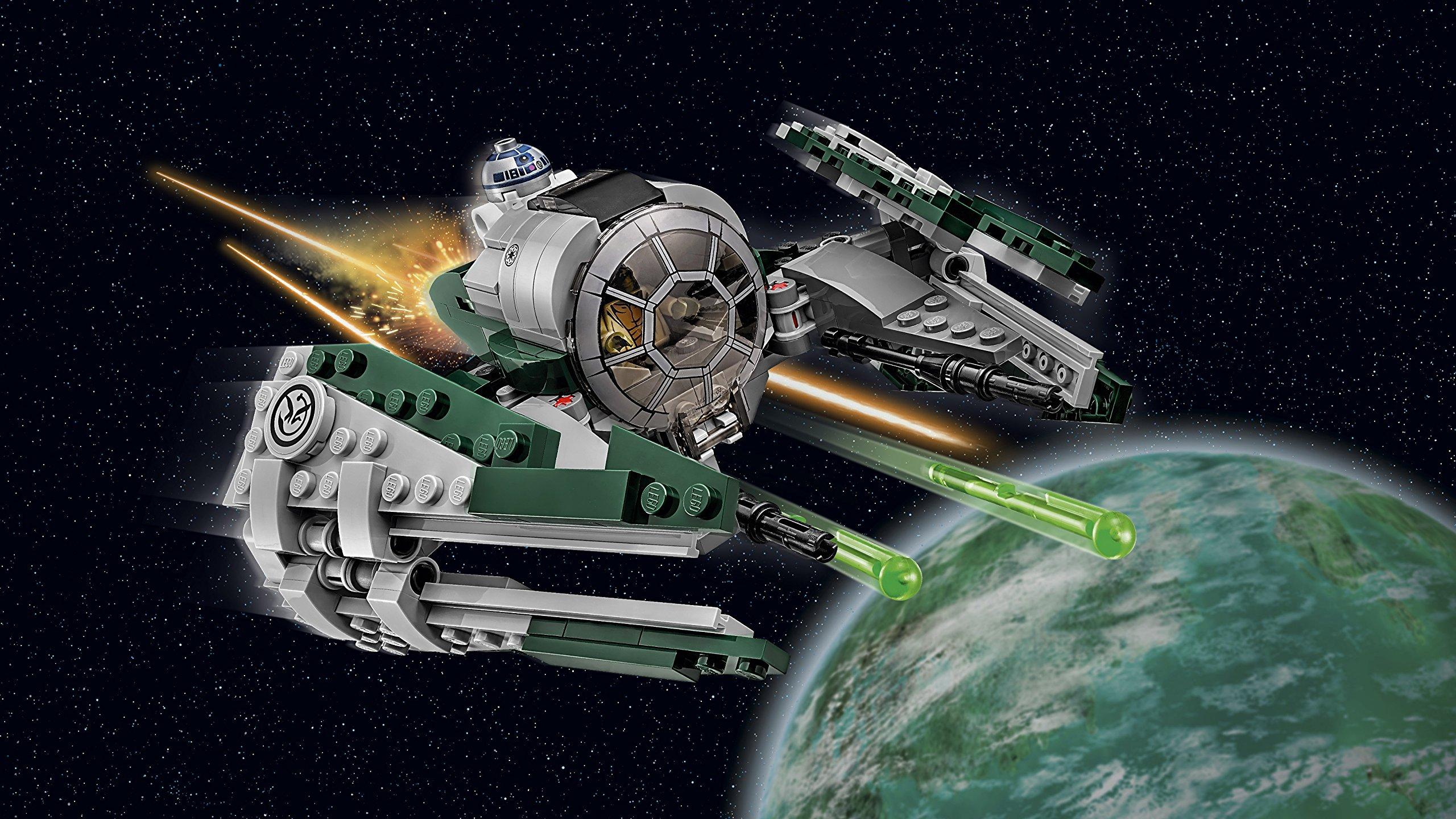 LEGO- Star Wars Jedi Starfighter di Yoda Costruzioni Piccole Gioco Bambina, Multicolore, 75168 4 spesavip