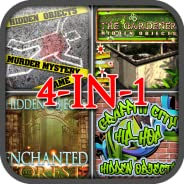 Hidden Objects Quest 4-in-1 Game Bundle Pack (Kindle Tablet Edition)