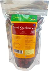 Sattvic Foods Dried Cranberries, 250g