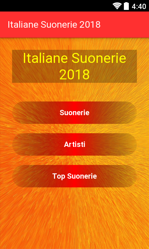 suonerie italiane da