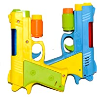Vibgyor Vibes Light and Sound Image Projecting Gun for Small Kids (Pack of 2)