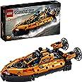 LEGO 42120 Technic AéroglisseurdeSauvetage Jeu de Construction d'un Avion, Modèle 2 en 1, pour Garçons et Filles de 8 Ans e