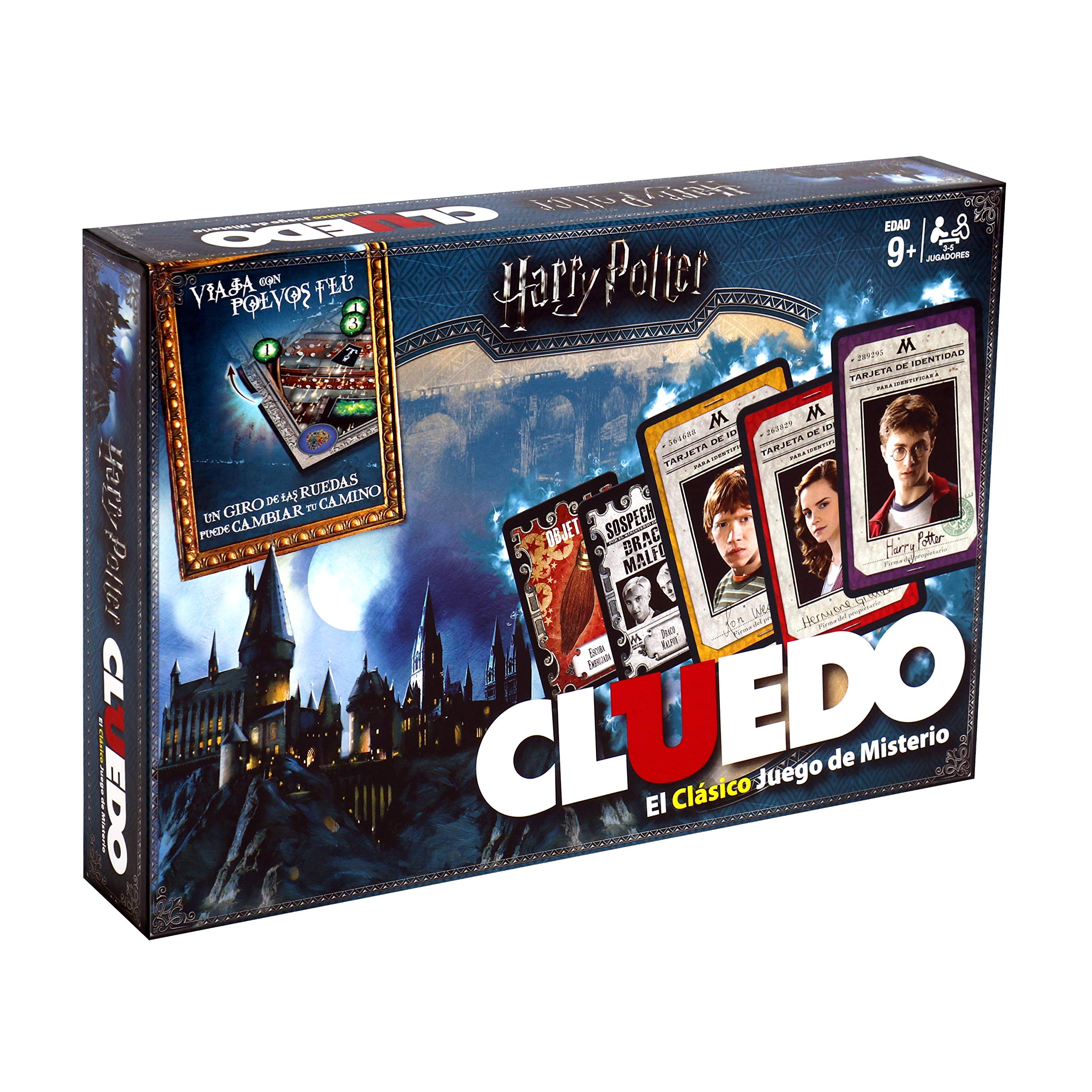 HARRY POTTER Cluedo 40X26-+9 Años, multicolor, Sin tañosllaños (ELEVEN FORCE 82288)