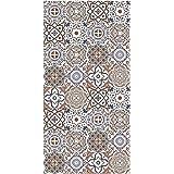 Alfombra Vinílica Cocina Baldosas, 80 x 40 x 0.22 cm, Varios Tamaños, Multicolor, Alfombra de Vinilo, Base Antideslizante, La