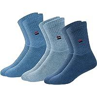 NAVYSPORT Men's Cotton Athletic Socks, Pack of 3