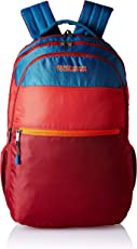 American Tourister Trivo 31 Ltrs Red/Blue Casual Backpack (Fi6 (0) 00 001)