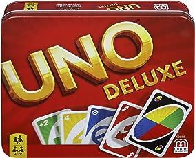 Mattel Games K0888 - UNO Deluxe Kartenspiel