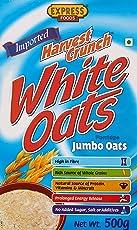 Express Foods White Oats Jumbo, 500g