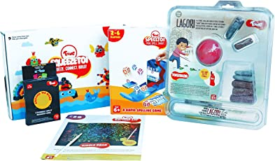 Toiing Birthday Gift Combo Pack 4 - Mega Pack with Activities & Games for Kids 6 to 10 Years