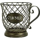 سلة معدنية للقطط/ سلة تخزين على شكل كوب القهوة من بوسطن ويرهاوس Storage Basket 33 458