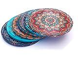 Alwan Ottoman Motif Coaster Set of 6 - EE8316S6 (Istanbul)