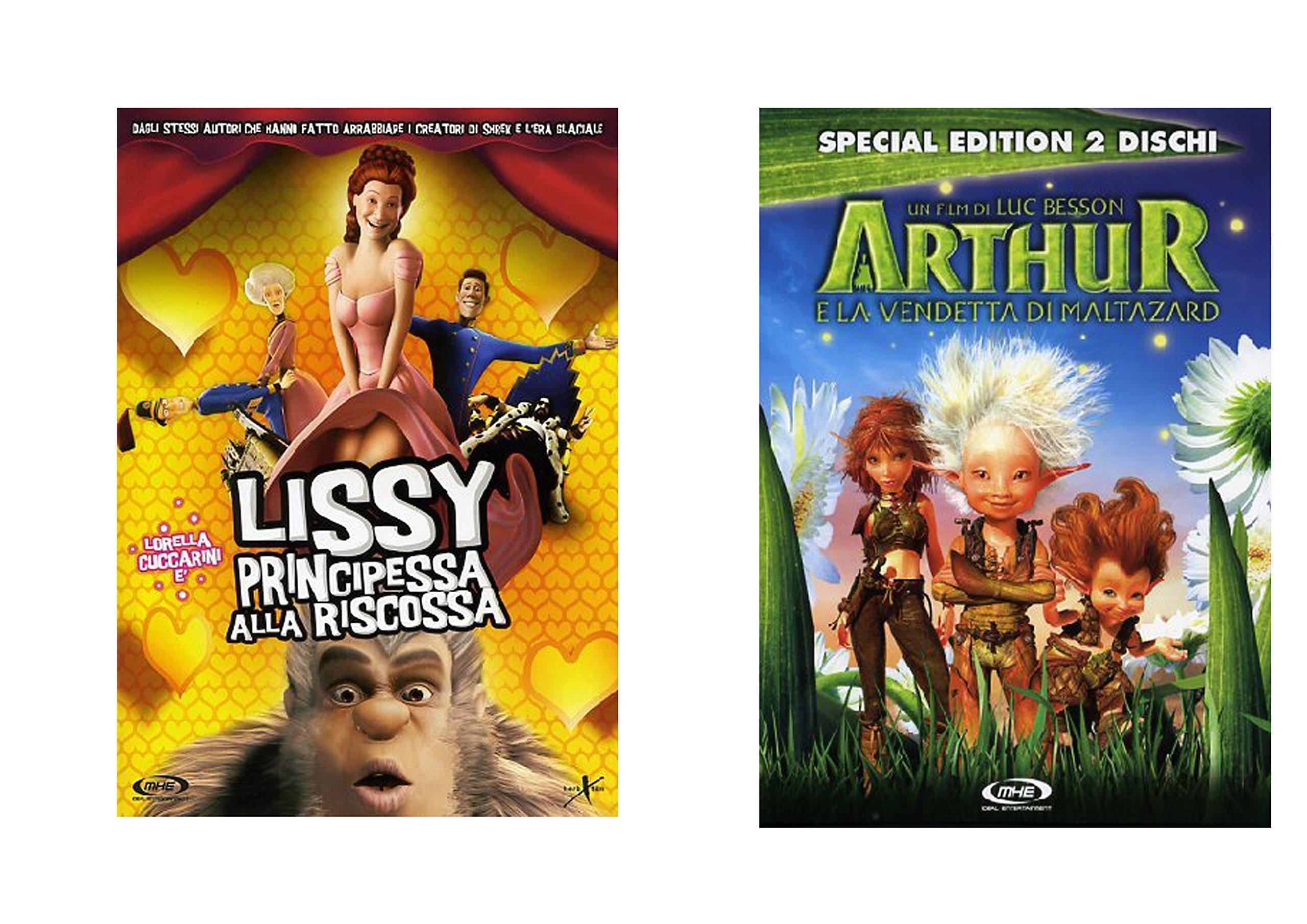 Offerta Speciale 2 DVD Lissy principesse alla riscossa Non Tutte Le Principesse Voglio Essere Salva