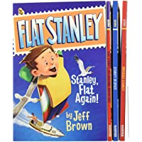 The Flat Stanley Collection Box Set: Flat Stanley, Invisible Stanley, Stanley in Space, and Stanley, Flat Again!
