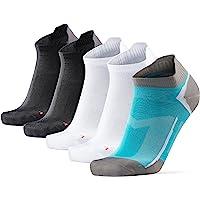 DANISH ENDURANCE Low-Cut Pro Ankle Running Socks, for Men & Women, Anti-Blister & Sweat-Wicking, Trainer, Light Weight…
