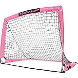 Franklin Sports Portable Soccer Goal - Blackhawk Pop-Up Folding Soccer Net