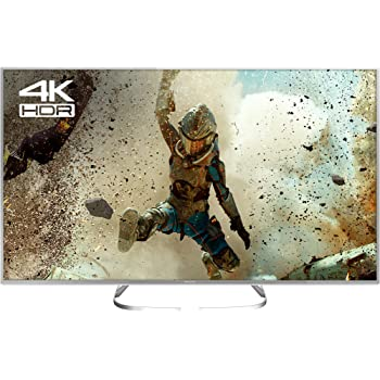Panasonic TX-50EX700B 50-Inch 1600 Hz Widescreen 4K Ultra HD HDR Smart LED TV with Freeview Play (2017 Model) - Silver