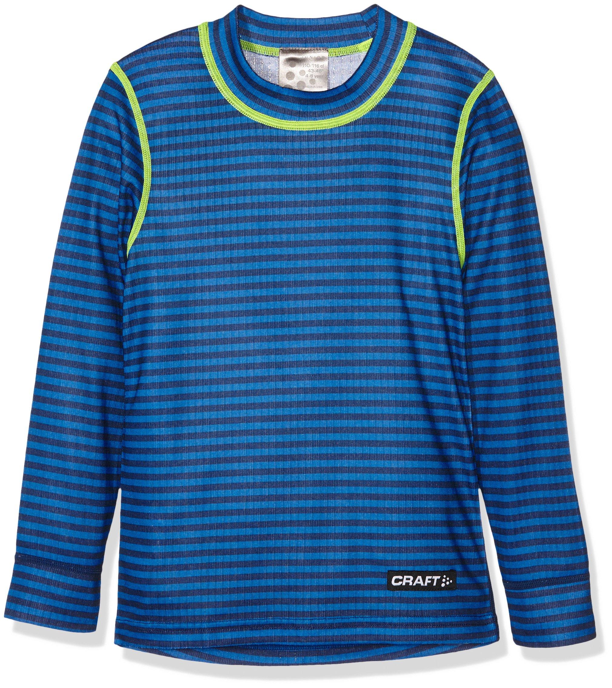 Craft bambini Mix e Match LS Junior P Intimo, Bambini, Unterwäsche Mix und Match LS Junior P, strip