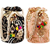 Ailtino Women Potli Bag Combo, Set and Pack of 2, 3, 4, 5