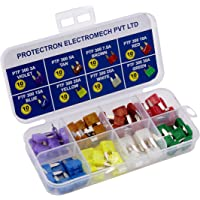 PROTECTRON Mini Blade FUSE-25 AMP Pack of 100 Fuses