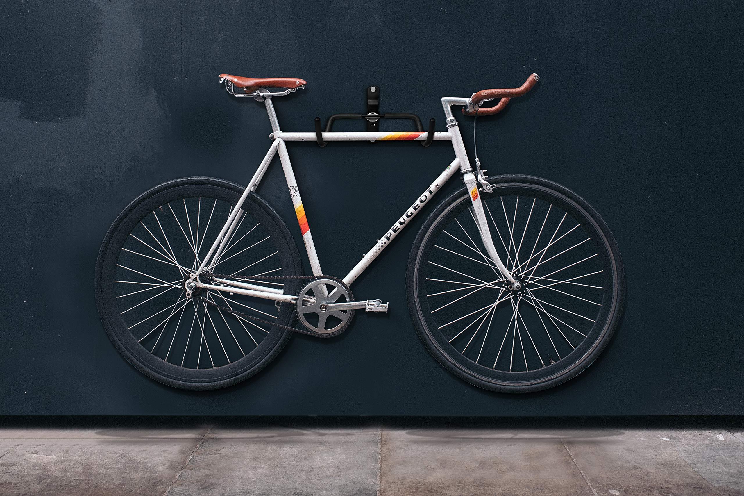 Charles daily supporto bici da parete orizzontale salvaspazio gancio muro FY3