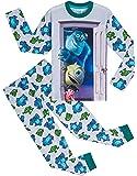 Disney Pigiama Bambino, Monsters & Co Pigiami in Cotone 2-14 Anni, Abbigliamento per Bimbi Due Pezzi A Maniche Lunghe…