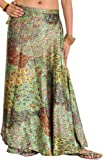 Exotic India Satin wrap Skirt