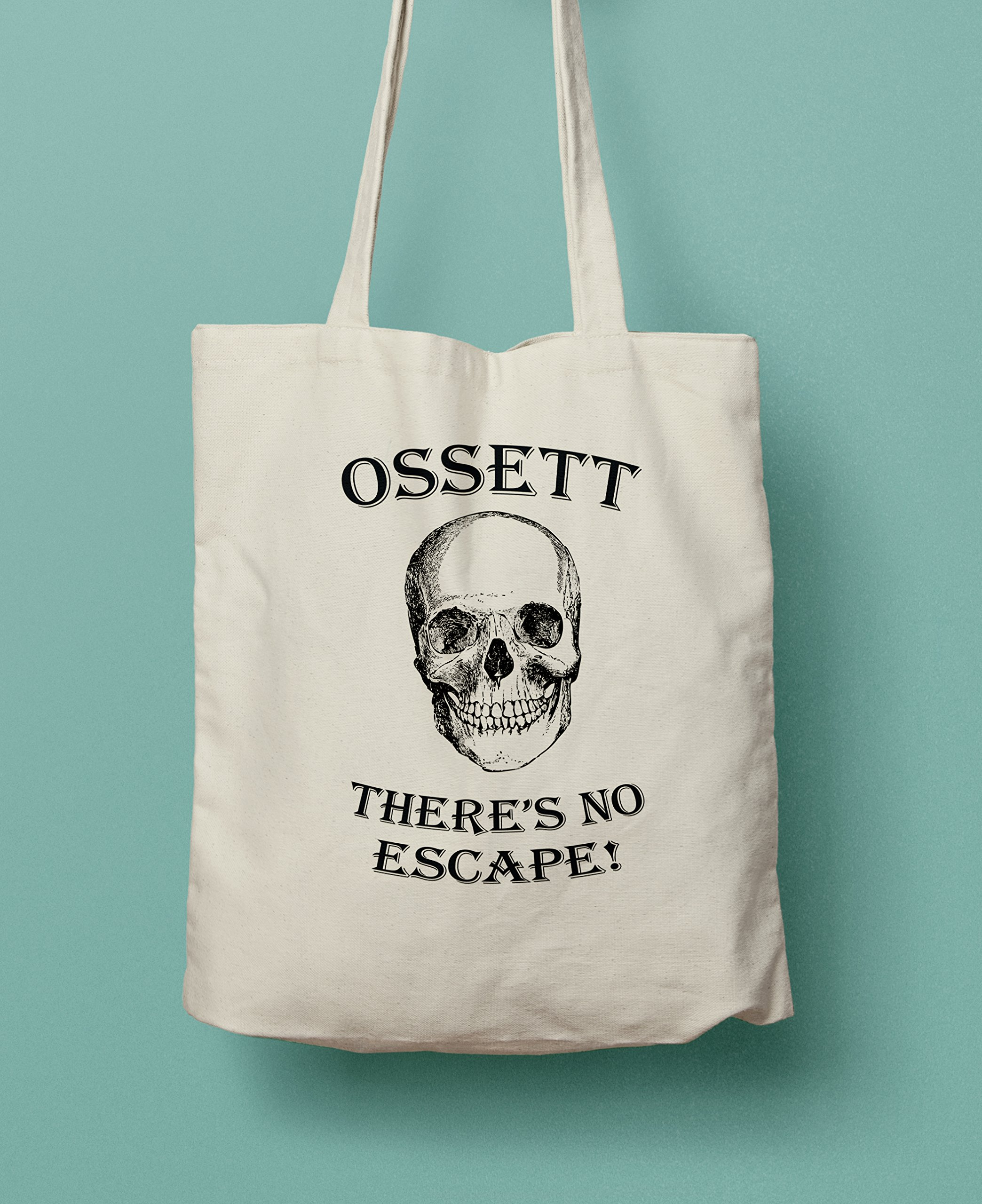 Ossett There's No Escape! Shopping Tote Bag - handmade-bags