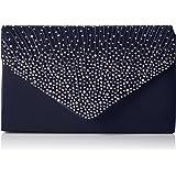 SwankySwans Abby Diamante Envelope Style Bag - Bolsa Mujer