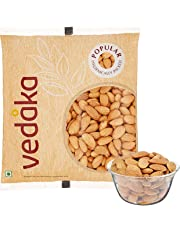 Amazon Brand - Vedaka Popular Whole Almonds, 1kg
