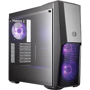 Cooler Master MasterBox MB500 Case per PC 'ATX, Micro-ATX, Mini-ITX, RGB LED, Pannello Laterale in Vetro Temperato' MCB-B500D-KGNN-S00