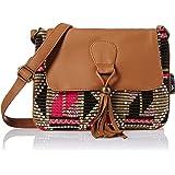 Kanvas Katha Sansa Women's Sling Bag (Brown) (KKSNJQ019)