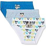 Disney Mickey Mouse Calzoncillos (Pack de 3) para Niños