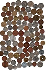 COLLECTION HOUSE-100 DIFFERENT WORLD COINS -FOR COLLECTION