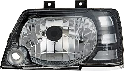 UNO MINDA HL-55016 LH Headlight Assembly without Wire for Maruti 800 Type 3