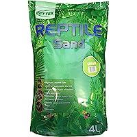 Pettex Reptile Coloured Calci Sand, 4 Litre, Green